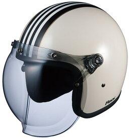 【在庫あり】OGK KABUTO オージーケーカブト ジェットヘルメット ROCK G1 [ロック・G1 ホワイトブラック] ヘルメット
