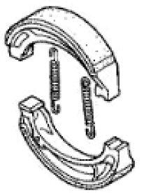 HONDA ホンダ 純正部品 ブレーキシューセット スーパーカブ110 プレスカブ50 スペイシー125