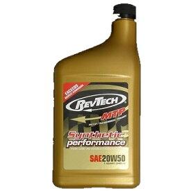 RevTech レブテック エンジンオイル GOLD【20W50】【0.946L(1クオート)】【4サイクルオイル】