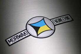 【在庫あり】MORIWAKI ENGINEERING モリワキエンジニアリング ステッカー・デカール 耐熱トレードマークステッカー