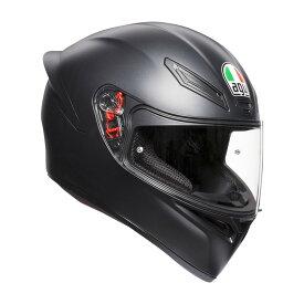AGV エージーブイ フルフェイスヘルメット K1 ヘルメット マットブラック サイズ:L(59-60cm)