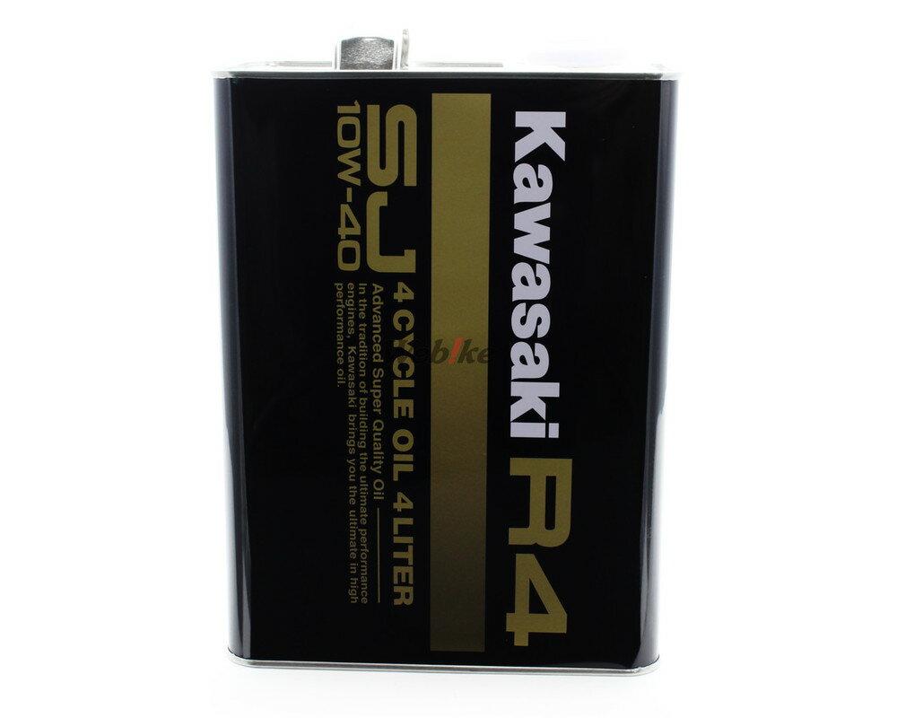 【在庫あり】KAWASAKI カワサキ R4 4サイクルオイル 容量:4リットル缶