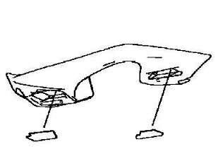 【在庫あり】KAWASAKI カワサキ バッグ・ボックス類取り付けステー バッグフィッテイング NINJA 1000 ABS(ZX1000WHF) 17