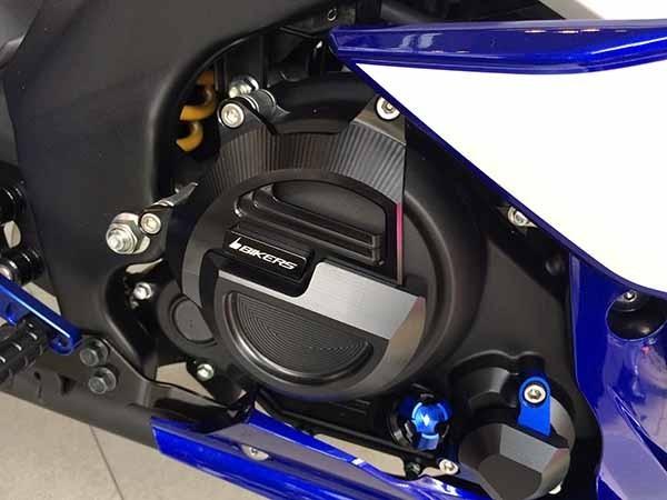 BIKERS バイカーズ ガード・スライダー エンジンガード カラー:ブラック M-SLAZ YZF-R15