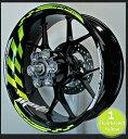 ステッカー・デカール MOTOINKZ モトインクズ GPレーシングホイールストライプ・リムステッカー1(GP Racing Wheel Stripes des...