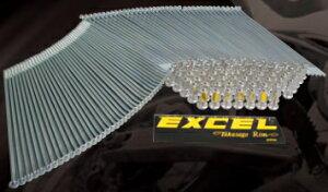 EXCEL RIM エキセルリム スポーク&アルミニップルセット KX250F KX450F