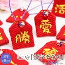 【ミニサイズ】ミニ守『漢字その2』携帯やお財布にも入れられる小さな小さなお守り袋ミニ 財布 携帯 電話 ストラップ パワー 成就 お守…