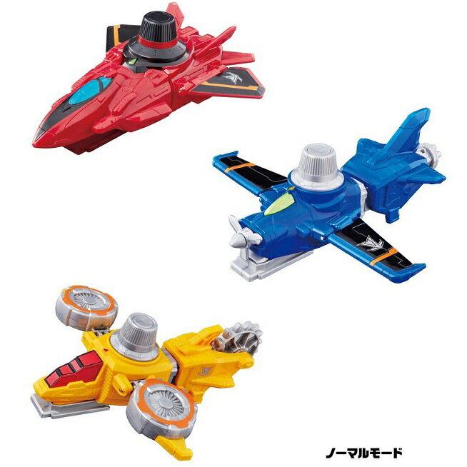 【お買い得セット】 快盗戦隊ルパンレンジャー VSビークルシリーズ 3種セット