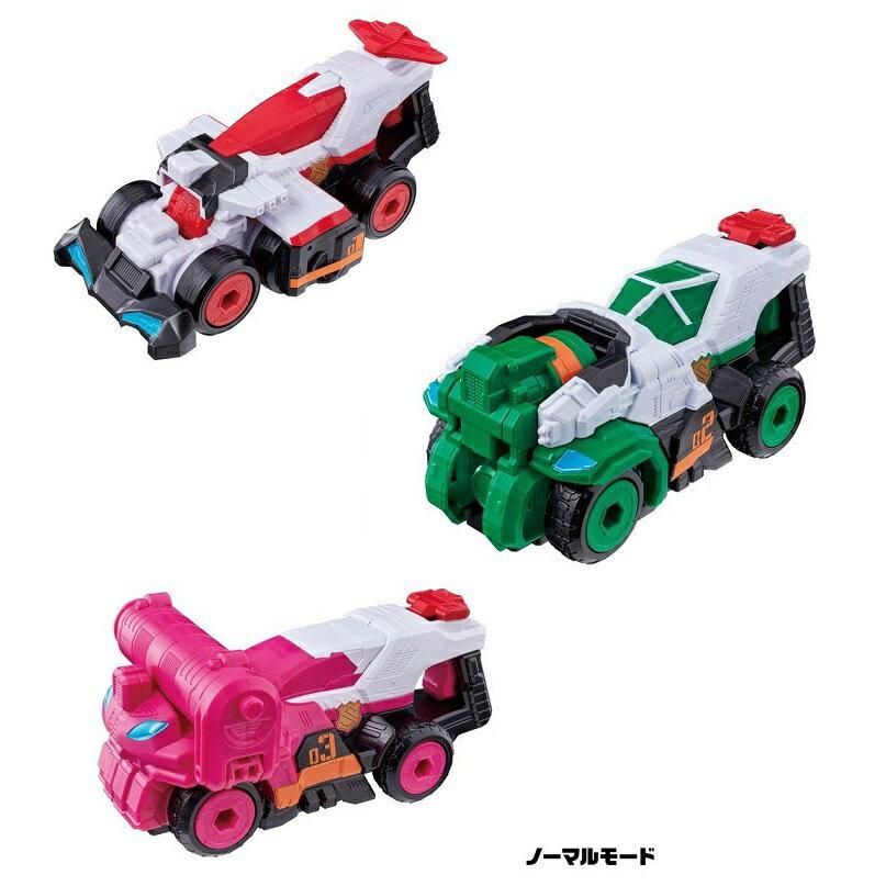 【お買い得セット】 警察戦隊パトレンジャー VSビークルシリーズ 3種セット