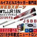 2018ルイスビル ニュートロン 少年軟式バット セミトップ【おまけ付】WTLJJR18N(JJR17N後継)
