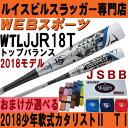 2018ルイスビル カタリスト2 TI 少年軟式バットトップ【おまけ付】WTLJJR18T(JJR17T後継)