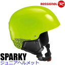 ロシニョール 子供用ヘルメット ジュニア 2017 SPARKY ネオンイエロー 16-17 ROSSIGNOL スキー&スノーボード ヘルメ…