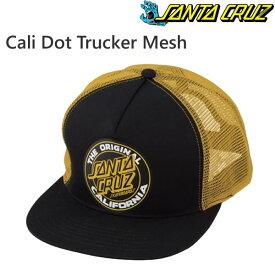 サンタクルーズ キャップ Cali Dot Trucker Mesh/Black/Gold メッシュキャップ santa cruz キャップ【w53】