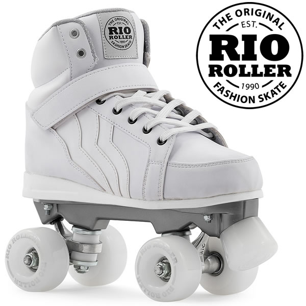 RIO ROLLER クワッドスケート KICKS White ローラースケート 【smtb-k】[%OFF]【楽ギフ_包装】【w55】