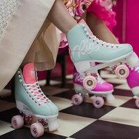 RIOROLLERクワッドスケート2017SCRIPTTeal×Coralローラースケート【smtb-k】[%OFF]【楽ギフ_包装】【w17】