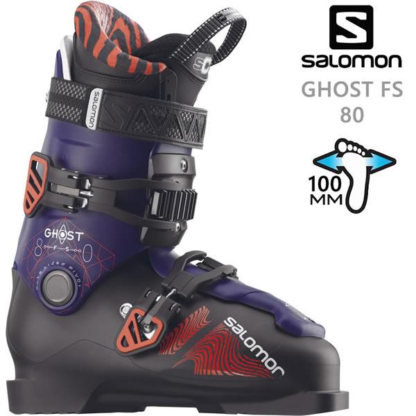 サロモンスキーブーツ GHOST FS 80(ゴースト FS 80) (18-19 2019) SALOMON フリースタイルスキー ブーツ【w69】