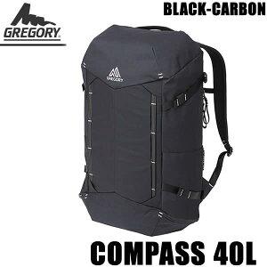 グレゴリー リュック デイパック COMPASS 40 コンパス ブラックカーボン 109454-1052 GREGORY リュック【w47】