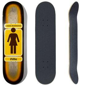 ガール スケボーデッキ GIRL RICK McCRANK   GS1 ピンク 7.75x31.125インチ(デッキテープ サービス)girl skateboards スケートボード【w09】