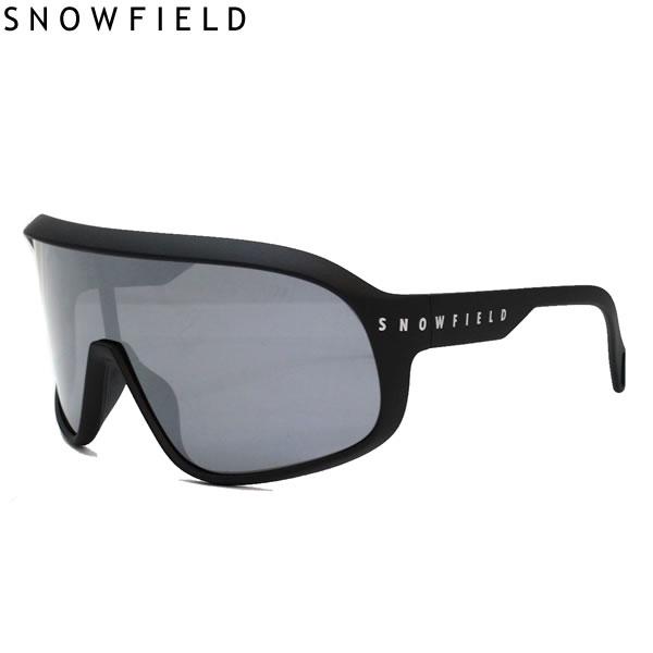 SNOWFIELD スノーフィールド サングラス F3 SNOWFIELD マットブラック MBK 偏光シルバーミラー 山本光学製 偏光サングラス スキー&スノーボード 釣り 【C1】【w68】