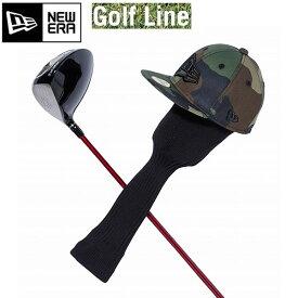 ニューエラ ゴルフ ヘッドカバー フラッグロゴ ウッドランドカモ × ブラック 11901509 GOLF HEAD COVER ゴルフ用品 ゴルフ NEWERA Golf 【C1】【w02】
