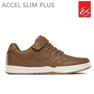 エス スニーカー アクセル スリム ACCEL SLIM PLUS/BROWN エス スケシュー スケートボード シューズ es skateboarding【C1】【w47】