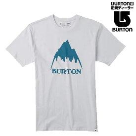 バートン ティーシャツ 半袖 CLASSIC MOUNTAIN HIGH Short Sleeve/Stout White 日本正規品 BURTON Tシャツ【K1】【w49】