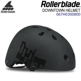 ローラーブレード インライン ヘルメット 2019 DOWNTOWN HELMET ブラック×イエロー 大人用 067H0300800 ROLLERBLADE 【w83】