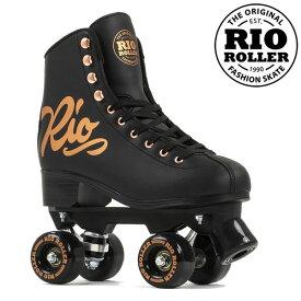 RIO ROLLER クワッドスケート ROSE Black RIO360 ローラースケート 【smtb-k】[%OFF]【楽ギフ_包装】【w49】