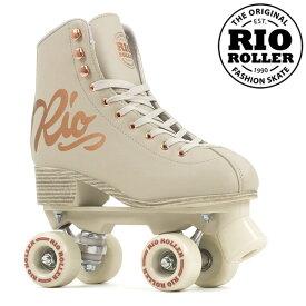 RIO ROLLER クワッドスケート ROSE Cream RIO360 ローラースケート 【smtb-k】[%OFF]【楽ギフ_包装】【w49】