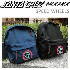サンタクルーズ リュック SANTACRUZ SPEED WHEELS BACKPACK 2カラー展開 バッグ ナイロンバックパック かばん 通勤 通学【w46】