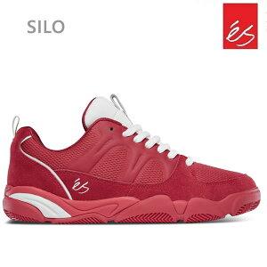es skateboarding エス スニーカー SILO /RED  エス スケシュー スケートボード シューズ es skateboarding【C1】【w47】