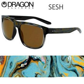 DRAGON ドラゴン サングラス SESH セッシュ ROB MACHADO RESIN -LUMALENS BROWN ハイコントラスト ルーマレンズ 【C1】【w76】
