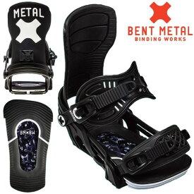 ベントメタル ビンディング AXITON/BOLTS BLACK 日本正規品 bentmetal(20-21 2021)スノーボード ビンディング【C1】