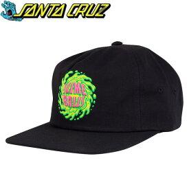 サンタクルーズ キャップ 帽子 SLIMEBALLS BLACK サイズ調整式バックル HATS CAP santa cruz キャップ【C1】【w71】