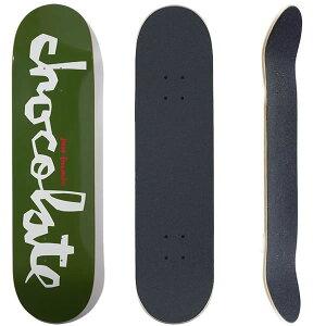 チョコレート スケボーデッキ単品  CHOCOLATE  CHUNK ジーザスフェルナンデス 8.0x31.5インチ(デッキテープ サービス)CHOCO skateboards スケートボード【w01】
