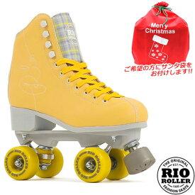 RIO ROLLER クワッドスケート SIGNATURE Yellow RIO280/285 ローラースケート 【smtb-k】[%OFF]【楽ギフ_包装】【w49】