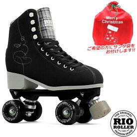 RIO ROLLER クワッドスケート SIGNATURE Black RIO280/285 ローラースケート 【smtb-k】[%OFF]【楽ギフ_包装】【w49】