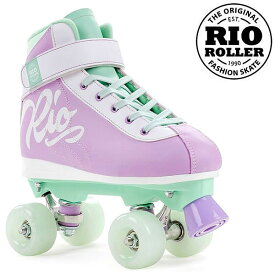 RIO ROLLER クワッドスケート MILKSHAKE Mint-Berry RIO130 ローラースケート 【smtb-k】[%OFF]【楽ギフ_包装】【w49】