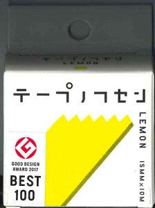 【メール便OK】ヤマト テープフセン LEMONレモン 15MM×10M TF-15-LE