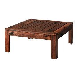 【IKEA/イケア/通販】 ÄPPLARÖ エップラロー テーブル/スツール セクション 屋外用, ブラウン ブラウンステイン(00213445)