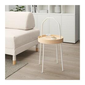 【IKEA/イケア/通販】 BURVIK ブールヴィーク サイドテーブル, ホワイト(d)(20340391)