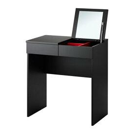【IKEA/イケア/通販】 BRIMNES ブリムネス ドレッシングテーブル, ブラック(d)(10355420)
