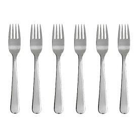 (期間限定)【IKEA/イケア/通販】 DRAGON ドラゴーン サラダ/デザート フォーク, ステンレススチール/6 ピース(c)(90177589)