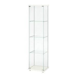 【IKEA/イケア/通販】 DETOLF デトルフ ガラス扉キャビネット, ホワイト(d)(20354043))【代引不可商品】