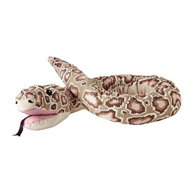 【IKEA/イケア/通販】 DJUNGELSKOG ジュンゲルスコグ ハンドパペット, ヘビ, ビルマニシキヘビ(f)(40402849)