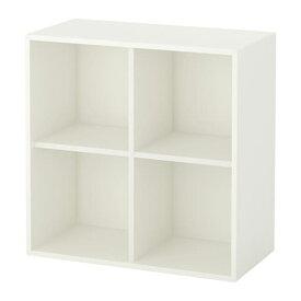 【期間限定】【IKEA/イケア/通販】 EKET エーケト キャビネット 4コンパートメント, ホワイト(d)(90333957)