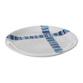 【特選商品】【IKEA/イケア/通販】 FOLIEFORM フォリエフォルム サイドプレート, ブルー, ホワイト(c)(10339152)