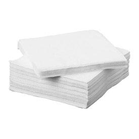 【IKEA/イケア/通販】 FANTASTISK ファンタスティスク 紙ナプキン, ホワイト/50 ピース(c)(70174214)