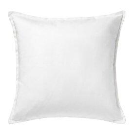 【IKEA/イケア/通販】 GURLI グルリ クッションカバー(※カバーのみの商品です), ホワイト(c)(10281151)