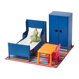 【IKEA/イケア/通販】 HUSET フーセット ミニチュア家具 ベッドルーム(f)(70292260)[A]